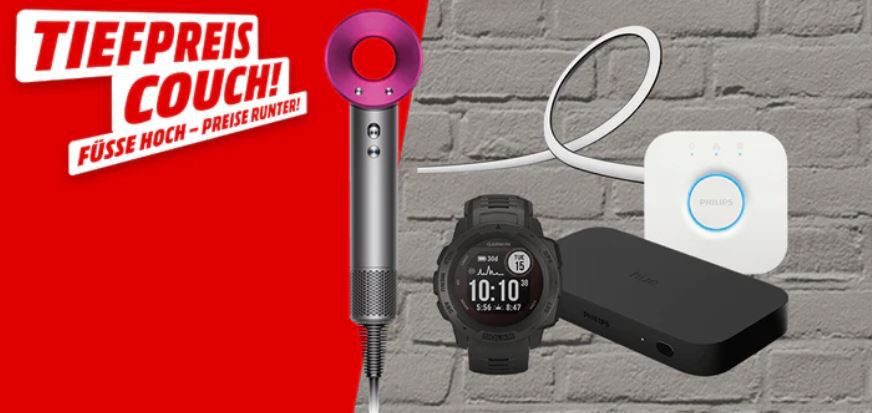 Media Markt Tiefpreiscouch: z.B. RING Security Kit 5 teiliges Alarmsystem für 183,98€ (statt 288€)