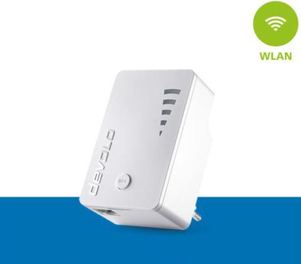 devolo ac WLAN Verstärker mit Gbit LAN Port 1200Mbps für 35,99€ (statt 47€) – refurb.