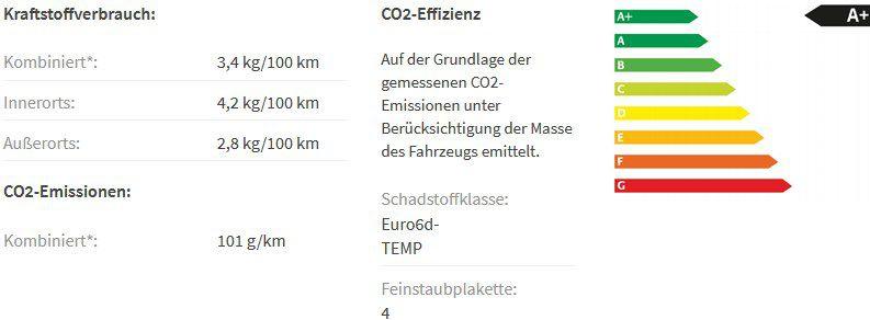 Gewerbe: Skoda Kamiq 1.0 TGI als Style Edition mit 90PS (Erdgas) ab 85€ netto mtl.   LF 0,58