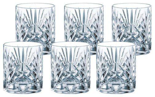 Nachtmann PALAIS   6er Set Whiskygläser aus Kristallglas für 23,67€ (statt 30€)