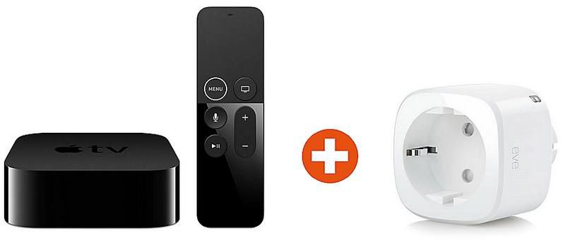 Apple TV 4K mit 32GB & HDR +  Eve Energy   smarte Steckdose für 179,90€ (statt 213€)