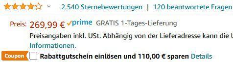 LEFANT T700 Saugroboter mit Wischfunktion 2200Pa für 159,99€ (statt 270€)