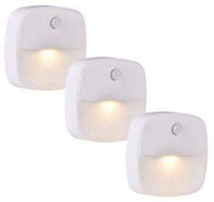 3er Pack: Lebexy LED Nachtlicht mit Bewegungsmelder für 9,89€ (statt 14€)   Prime