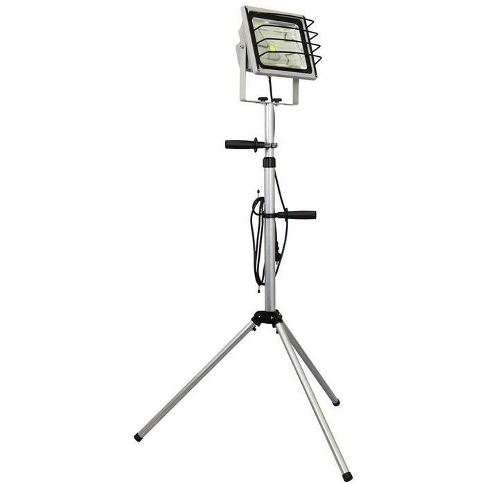 XQ lite 50W LED Arbeitsscheinwerfer auf Stativ bis 1,85m für 33,90€ (statt 62€)
