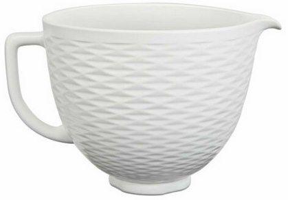 KitchenAid 5KSM2CB5 4,7L Keramikschüssel für 55,22€ (statt 67€)