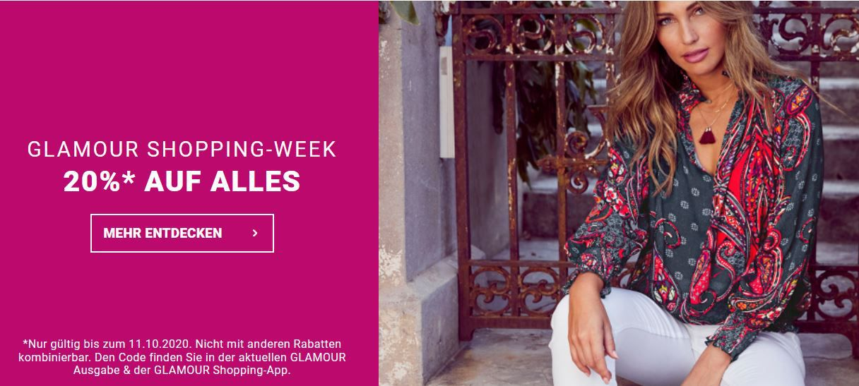 Bis Mitternacht! Lascana Fashion Day 20% Extrarabatt auf alles auch im bis 50% Sale + VSK frei ab 50€