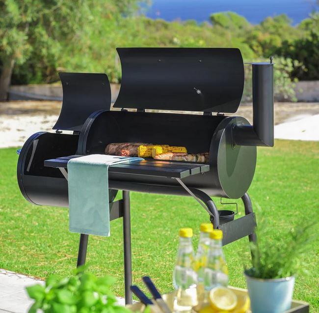 Grillmax 2 Kammer Holz Grill u. Smoker ab 56€ (statt 95€)