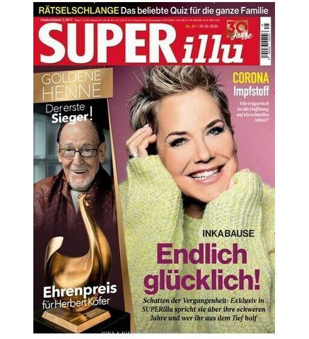 52 Ausgaben Superillu für 104€ + Prämie: 60€ Amazon Gutschein