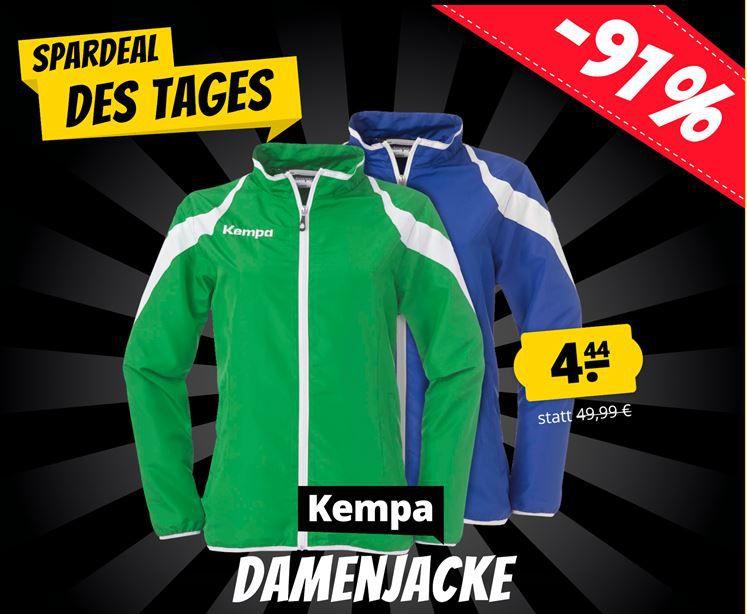 Kempa Motion Damen Handball Jacke (L + XL) ab 8,39 € (statt 19€)