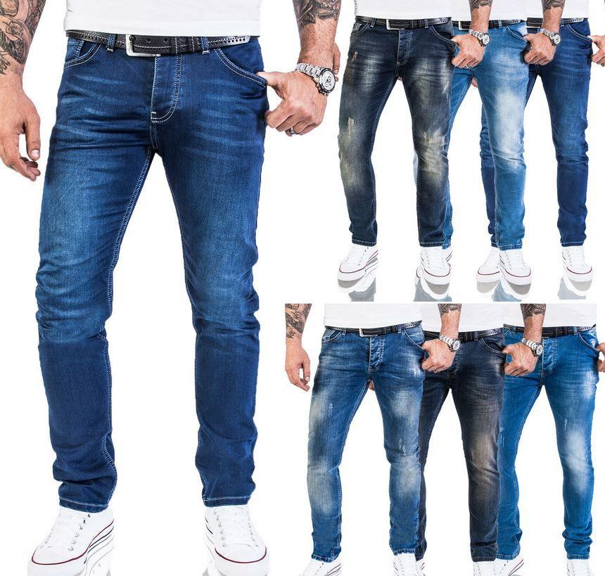 ROCK CREEK M21   Herren Strech Jeans Slim Fit für je 27,90€ (statt 40€)
