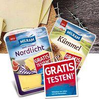 Milram Käse kostenlos ausprobieren