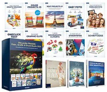 Pearl: FRANZIS Foto , Grafik  und Druckstudio 2021 gratis + 5,95€ VSK