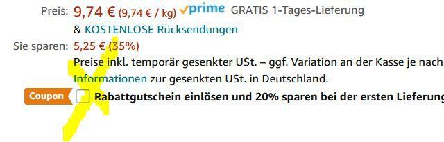Knaller! 4kg Kaffeebohnen Jacobs Barista Editions Crema ab 23,37€ (statt ~60€)