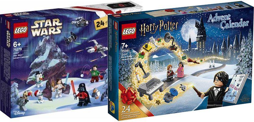 Verschiedene LEGO Adventskalender   Harry Potter, Star Wars & Friends ab 19,99€   Prime