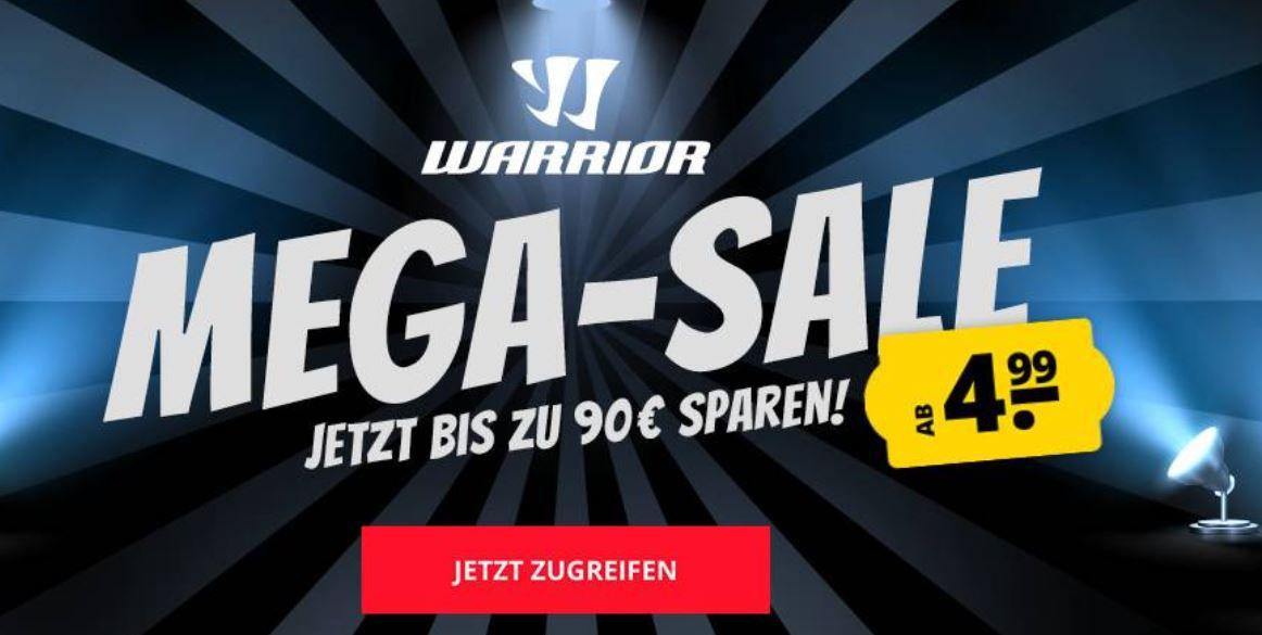 SportSpar kleiner Warrior Sale   z.B. Warrior W2 Herren Track Jacke ab 8,99€ (statt 39€)
