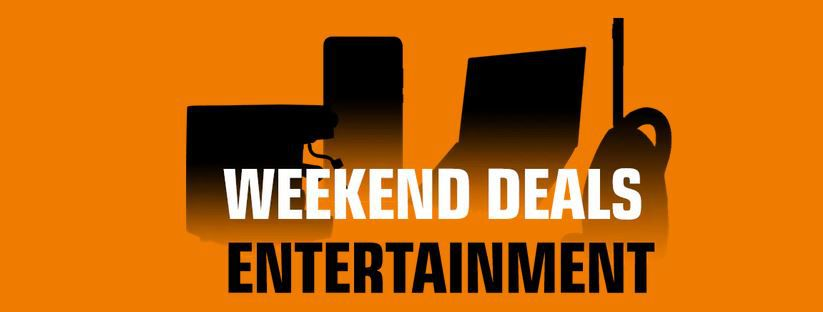 Saturn Entertainment Weekend Deals   z.B. THRUSTMASTER TX Racing Wheel (inkl. 2 Pedalset) für 212€ (statt 290€)