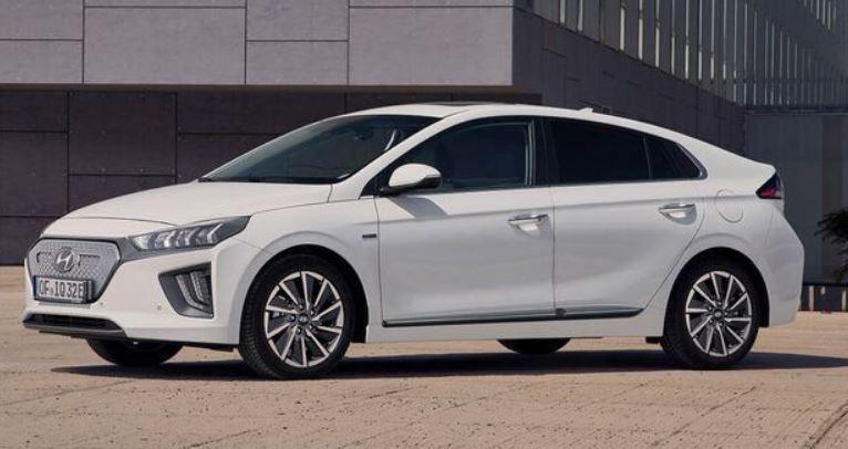 Privat: Hyundai IONIQ Elektro mit Trend Paket in Weiß mit 136PS für 119€ brutto mtl.   LF 0,46