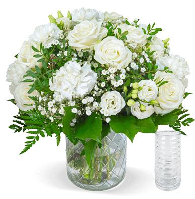 Blumenstrauß White Lady für 25,98€