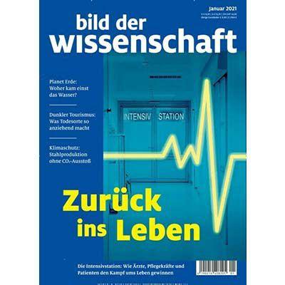 Bild der Wissenschaft Jahresabo für 127,40€ + 115€ Amazon Gutschein
