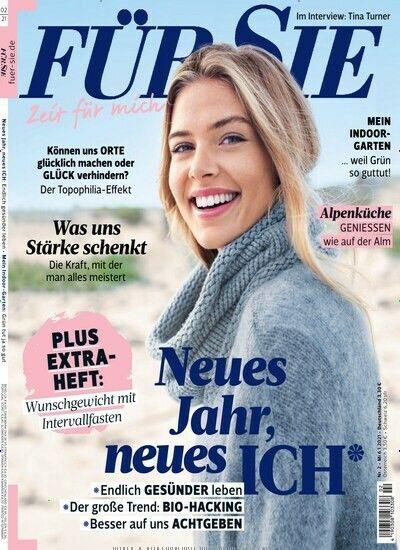 Jahresabo Für Sie (24 Ausgaben) für 84€ + Prämie: 75€ Amazon Gutschein