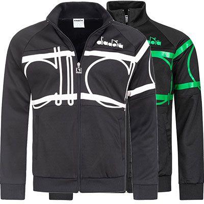 Diadora Jacke 80s Bold in 2 Farben für je 19,10€ (statt 39€)   S bis L