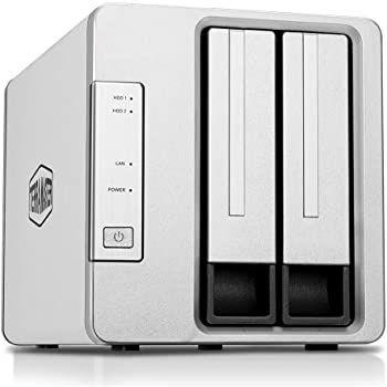 TerraMaster F2 210 2 Bay NAS Quad Core 1GB für 127,99€ (statt 146€)   Prime