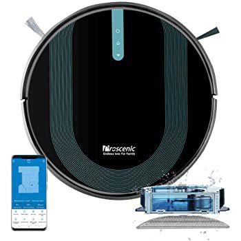 Proscenic 850T Saugroboter mit Wischfunktion, 3000Pa, Sprach  & Appsteuerung für 154,99€ (statt 209€)