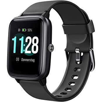 Letsfit ID205L Smartwatch mit 1.3 Zoll Touchschreen & Fitness Tracker für 29,99€ (statt 40€)