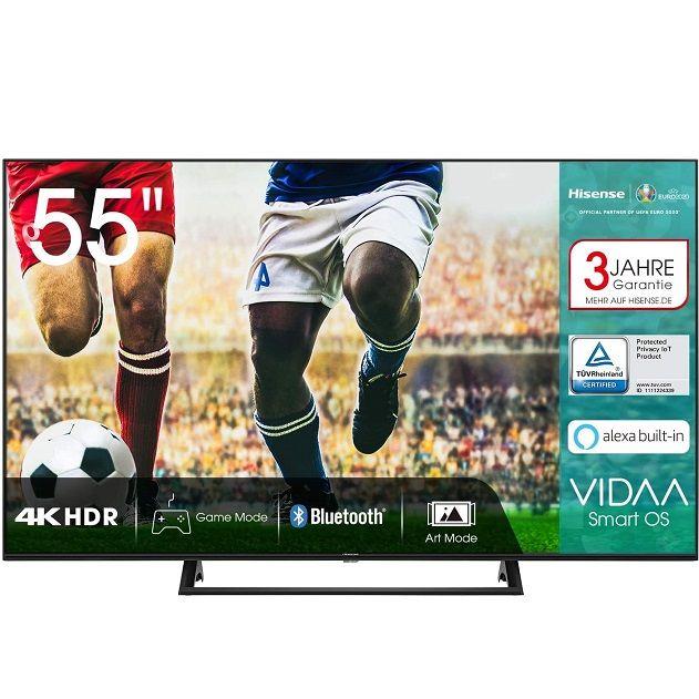 Hisense 55AE7200F – 55 Zoll UHD Fernseher für 399€ (statt 459€)