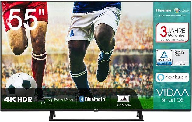 Hisense 55AE7200F   55 Zoll UHD Fernseher für 349€ (statt 434€)