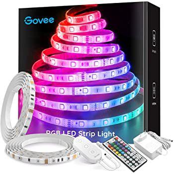 2x 5m Govee H6106 LED RGB Streifen mit Fernbedienung für 21,69€ (statt 31€)