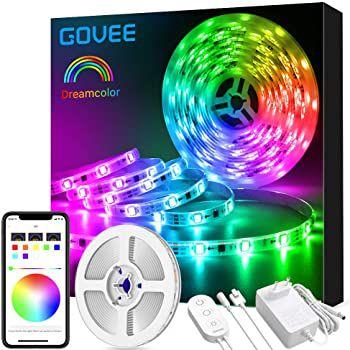 Govee H6127 5m RGBIC LED Streifen mit App  & Sprachsteuerung für 21,59€ (statt 28€) – Prime