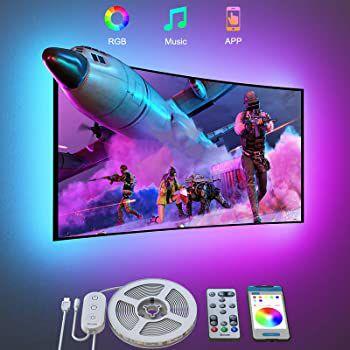 Govee LED TV Hintergrundbeleuchtung mit App-Anbindung für 46-60 Zoll für 12,99€ – Prime