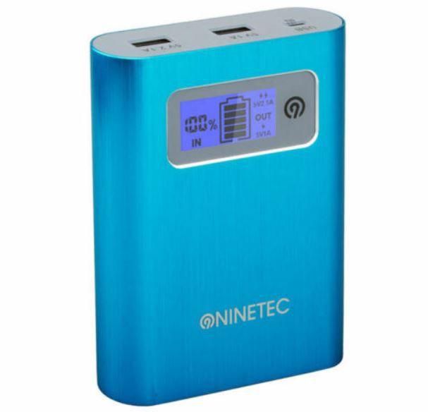 NINETEC PowerDrive 16GB Flash Speicher inkl 13.400mAh Power Bank für 9,99€ (statt 19€)