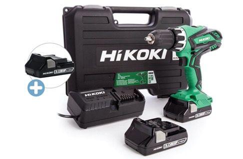Hikoki DV18DGLJMZ 18V Akku Schlagbohrschrauber (3x 3Ah Akku, Ladegerät, Koffer) für 145,90€ (statt 195€)