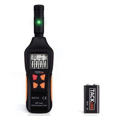 EMF Meter Tacklife MET01 digitales Strahlenmessgerät mit LCD Bildschirm für 12,99€ (statt 29€)