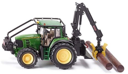 SIKU John Deere Forsttraktor (1:32 mit Rückzugmotor) für 15,60€ (statt 32€)   Prime