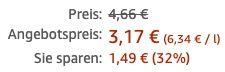 Baktolin sensitive Waschlotion 500ml ab 3,17€   Prime