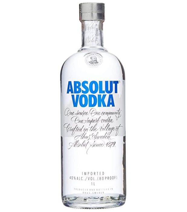 1 Liter Absolut Vodka Original ab 12,34€ (statt 17€)   Prime