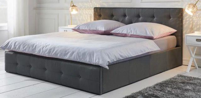 Bett Julie in 180 x 200 cm inkl. Lattenrost und Bettkasten ab 133,23€ (statt 199€)