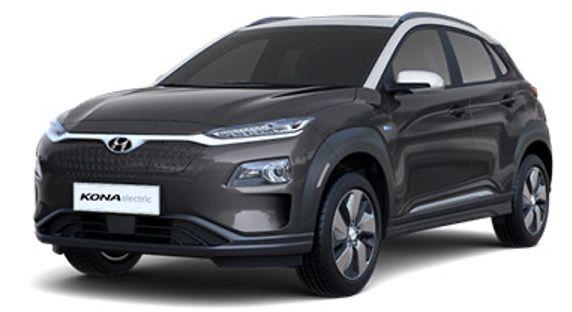 🔥 Hyundai Kona Trend Elektro mit 136 PS in Galaxy Grey für 85€ brutto mtl.   LF 0,34 (Privat 119€)