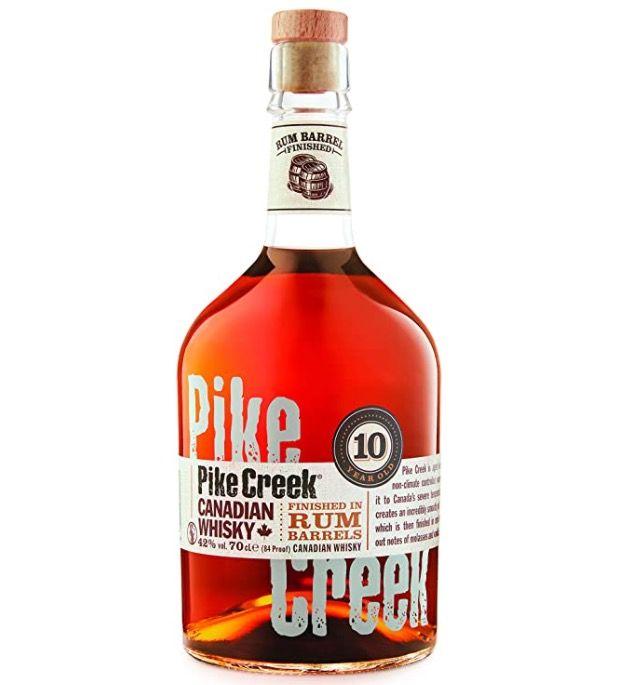 Pike Creek 10 Jahre Canadian Whisky ab 17,32€ (statt 30€)