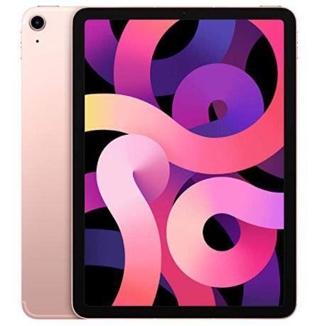 Apple iPad Air (2020) 256GB WiFi + 4G in Roségold für 798,35€ (statt 892€)