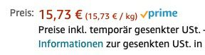 Abgelaufen! 6,6kg Red Band Willy das Würmchen Fruchtgummi für 15,73€ (statt 27€)