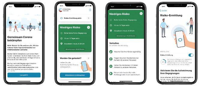 Corona Warn App: Neue Features wie Kneipen Checkin oder Kontrolle der Infektionsketten
