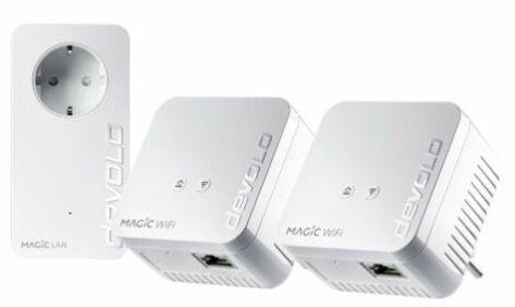 devolo Magic 1 WiFi mini Multiroom Powerline Kit für 125€ (statt 154€)