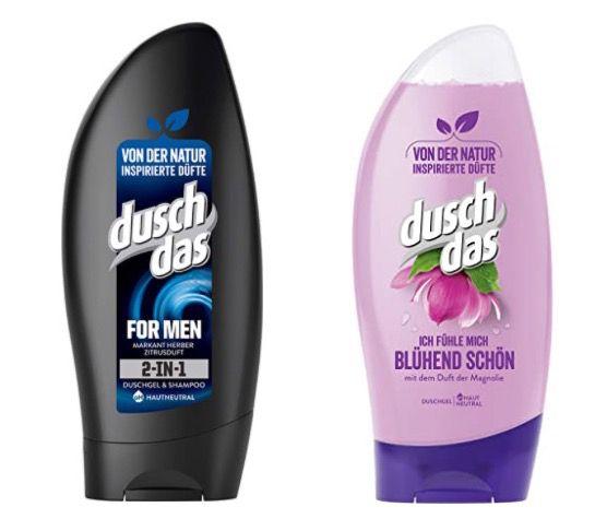 12er Pack Duschdas 2 in 1 Duschgel & Shampoo ab 5,24€
