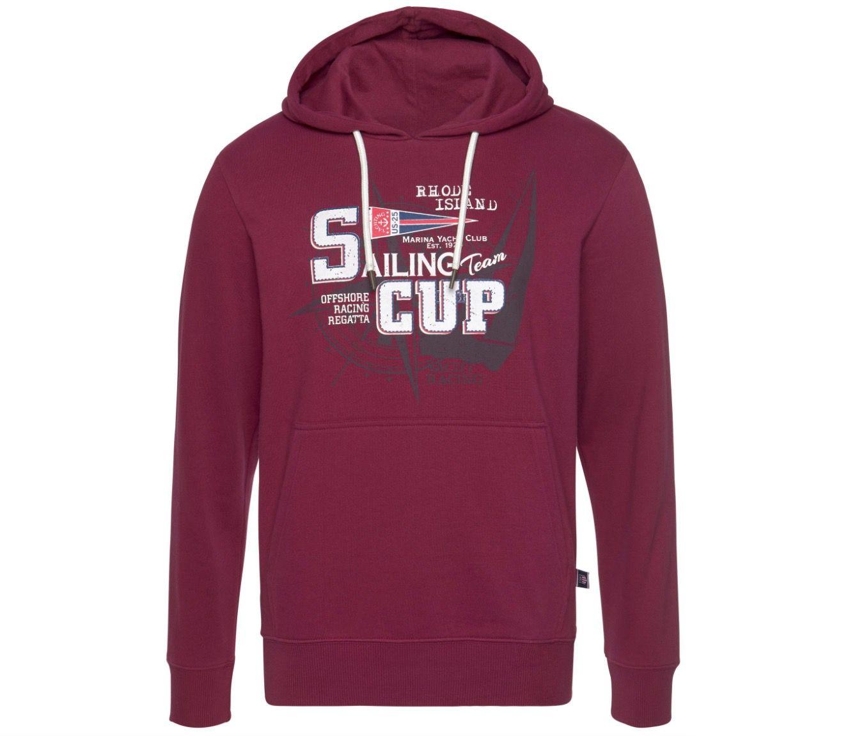 Rhode Island Kapuzensweatshirt mit Frontprint ab 17,53€ (statt 30€)   S bis XL
