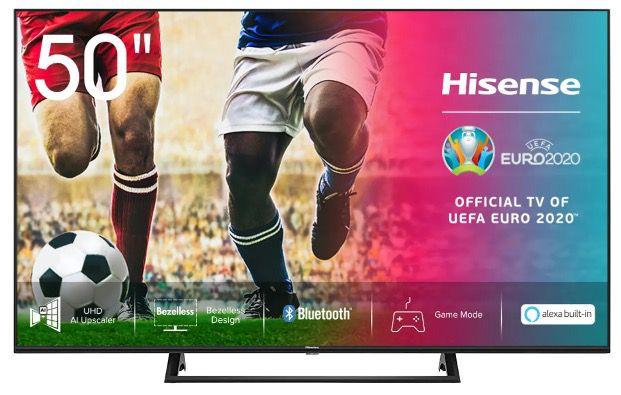 Hisense UHD Fernseher bei AO   z.B. 50 Zoll 50AE7200F für nur 299€ + Payback möglich