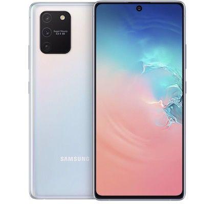Samsung Galaxy S10 Lite mit 128GB in Weiß oder Blau für je 346,61€ (statt 439€)